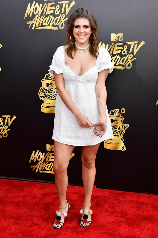 . LOS ANGELES, CA - MAY 07:  Actor Molly Tarlov attends the 2017 MTV Movie And TV Awards at The Shrine Auditorium on May 7, 2017 in Los Angeles, California.  (Photo by Frazer Harrison/Getty Images)