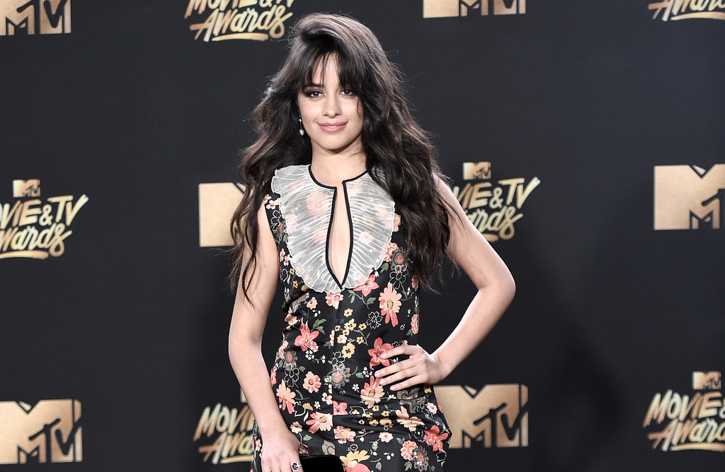 . Camila Cabello arrives at the MTV Movie and TV Awards at the Shrine Auditorium on Sunday, May 7, 2017, in Los Angeles. (Photo by Richard Shotwell/Invision/AP)