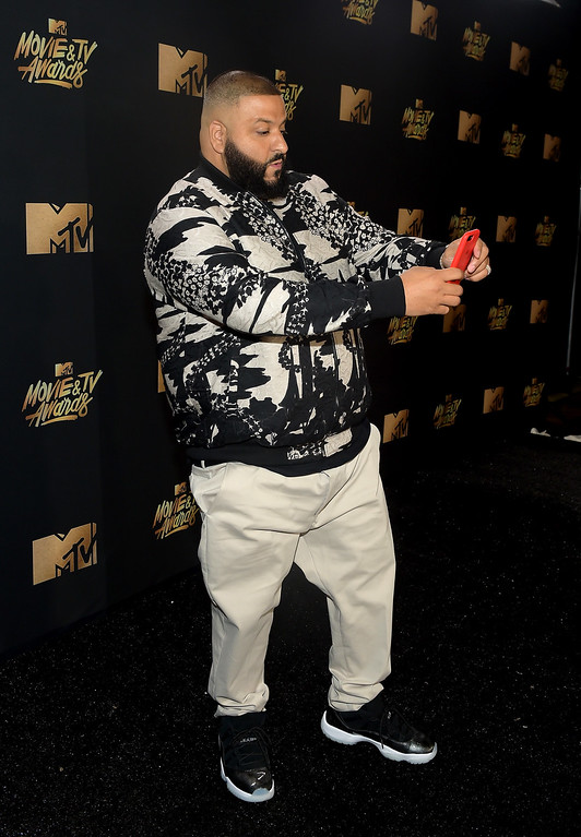 . LOS ANGELES, CA - MAY 07:  DJ Khaled attends the 2017 MTV Movie And TV Awards at The Shrine Auditorium on May 7, 2017 in Los Angeles, California.  (Photo by Matt Winkelmeyer/Getty Images)