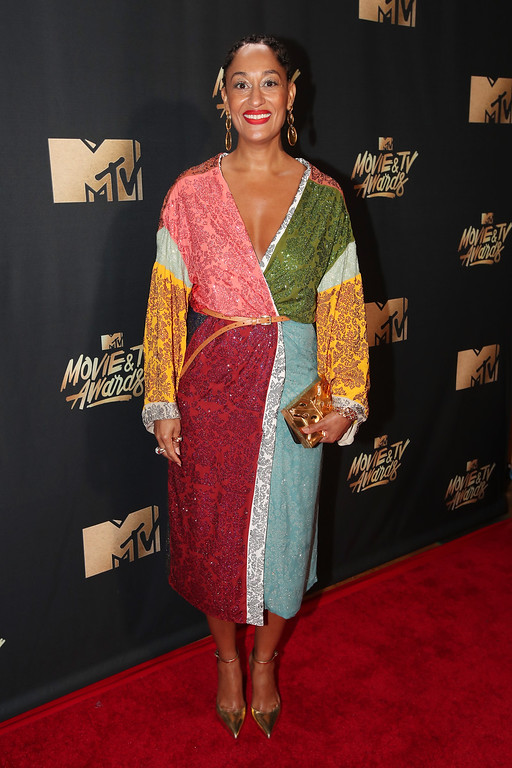 . LOS ANGELES, CA - MAY 07:  Actor Tracee Ellis Ross attends the 2017 MTV Movie And TV Awards at The Shrine Auditorium on May 7, 2017 in Los Angeles, California.  (Photo by Christopher Polk/Getty Images)