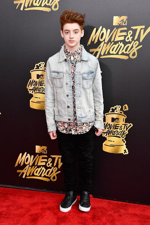. LOS ANGELES, CA - MAY 07: Actor Thomas Barbusca attends the 2017 MTV Movie And TV Awards at The Shrine Auditorium on May 7, 2017 in Los Angeles, California.  (Photo by Frazer Harrison/Getty Images)
