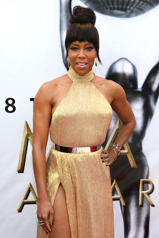 . PASADENA, CA - FEBRUARY 11:  Actress Regina King attends the 48th NAACP Image Awards at Pasadena Civic Auditorium on February 11, 2017 in Pasadena, California.  (Photo by Paras Griffin/Getty Images )