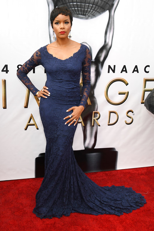 . PASADENA, CA - FEBRUARY 11:  Singer LeToya Luckett attends the 48th NAACP Image Awards at Pasadena Civic Auditorium on February 11, 2017 in Pasadena, California.  (Photo by Paras Griffin/Getty Images )