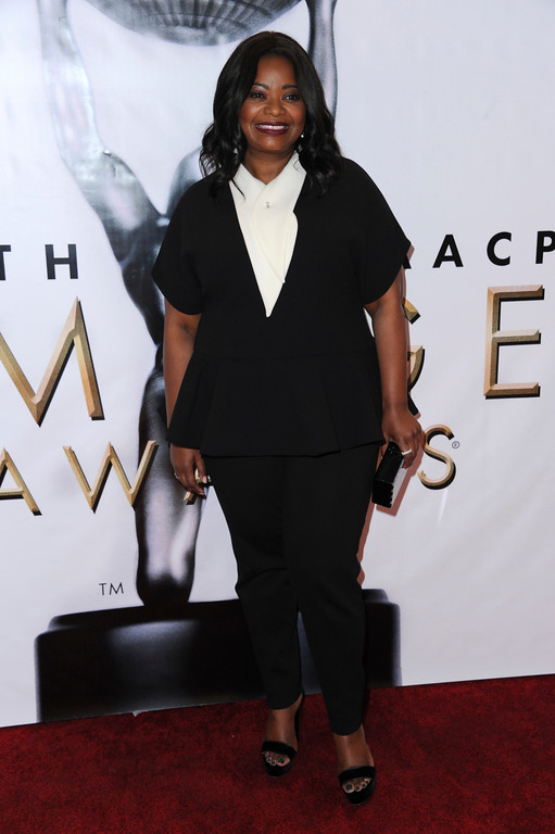 . Octavia Spencer arrives at the 48th annual NAACP Image Awards at the Pasadena Civic Auditorium on Saturday, Feb. 11, 2017, in Pasadena, Calif. (Photo by Richard Shotwell/Invision/AP)