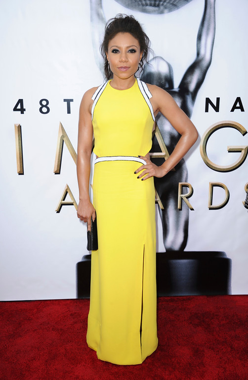 . Shalita Grant arrives at the 48th annual NAACP Image Awards at the Pasadena Civic Auditorium on Saturday, Feb 11, 2017, in Pasadena, Calif. (Photo by Richard Shotwell/Invision/AP)