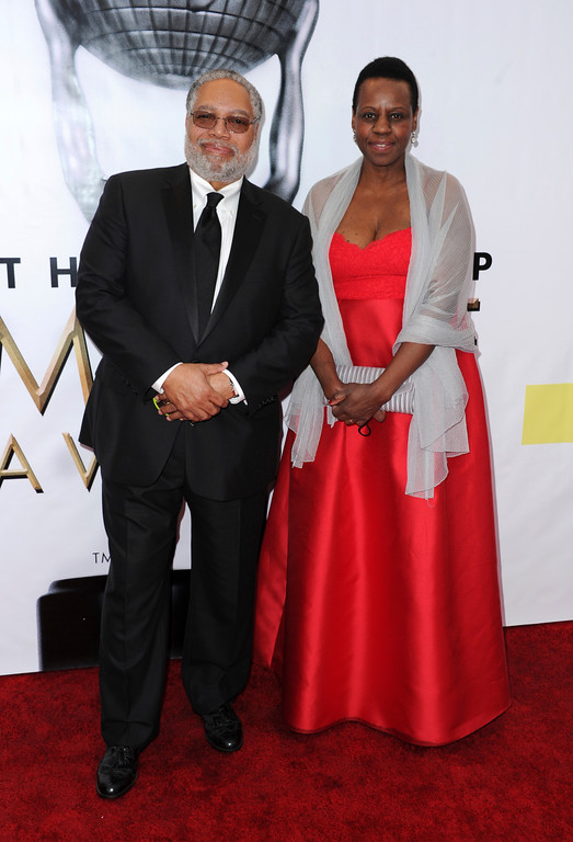. Lonnie Bunch, left, and Maria Marable-Bunch arrive at the 48th annual NAACP Image Awards at the Pasadena Civic Auditorium on Saturday, Feb. 11, 2017, in Pasadena, Calif. (Photo by Richard Shotwell/Invision/AP)