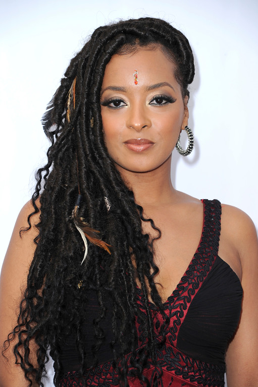. Jennia Fredrique arrives at the 48th annual NAACP Image Awards at the Pasadena Civic Auditorium on Saturday, Feb 11, 2017, in Pasadena, Calif. (Photo by Richard Shotwell/Invision/AP)