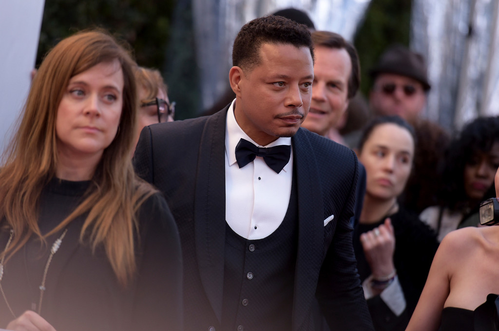. Terrence Howard arrives at the 48th annual NAACP Image Awards at the Pasadena Civic Auditorium on Saturday, Feb. 11, 2017, in Pasadena, Calif. (Photo by Richard Shotwell/Invision/AP)