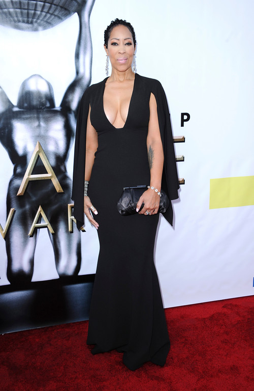 . Nicole Grays Owens arrives at the 48th annual NAACP Image Awards at the Pasadena Civic Auditorium on Saturday, Feb 11, 2017, in Pasadena, Calif. (Photo by Richard Shotwell/Invision/AP)