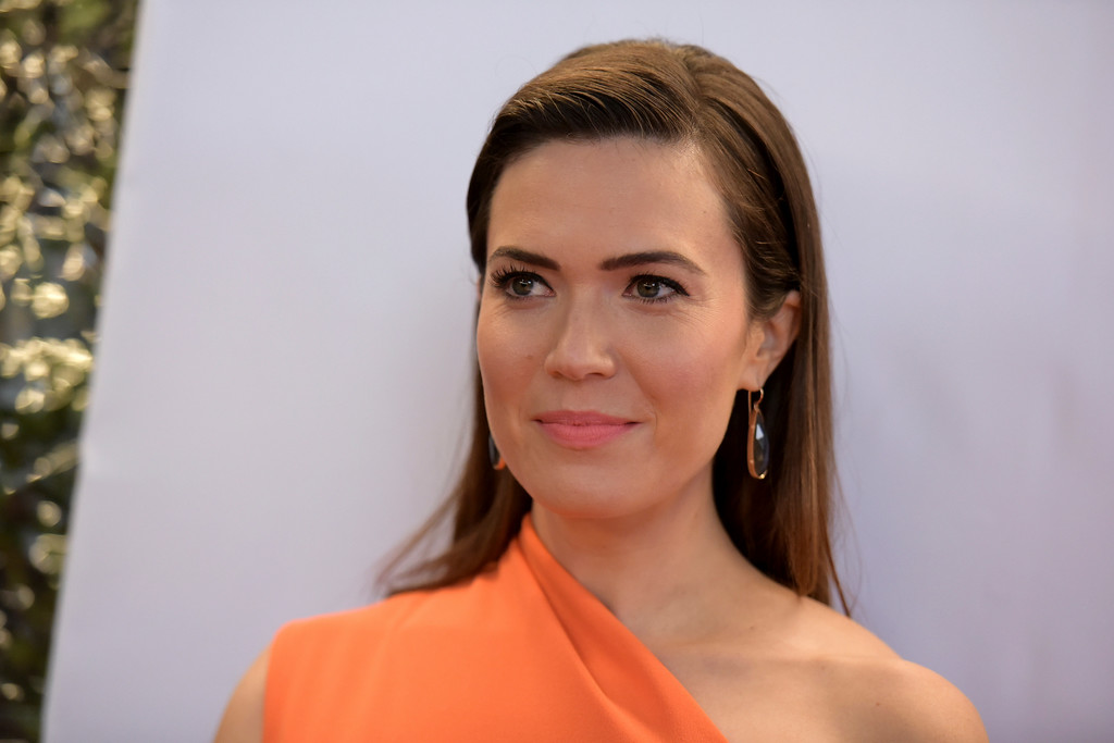 . Mandy Moore arrives at the 48th annual NAACP Image Awards at the Pasadena Civic Auditorium on Saturday, Feb. 11, 2017, in Pasadena, Calif. (Photo by Richard Shotwell/Invision/AP)
