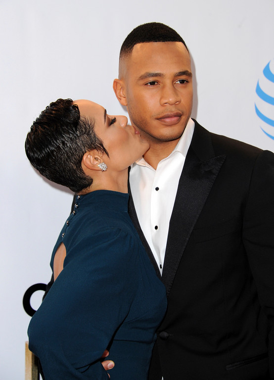 . Grace Byers, left, and Trai Byers arrive at the 48th annual NAACP Image Awards at the Pasadena Civic Auditorium on Saturday, Feb. 11, 2017, in Pasadena, Calif. (Photo by Richard Shotwell/Invision/AP)