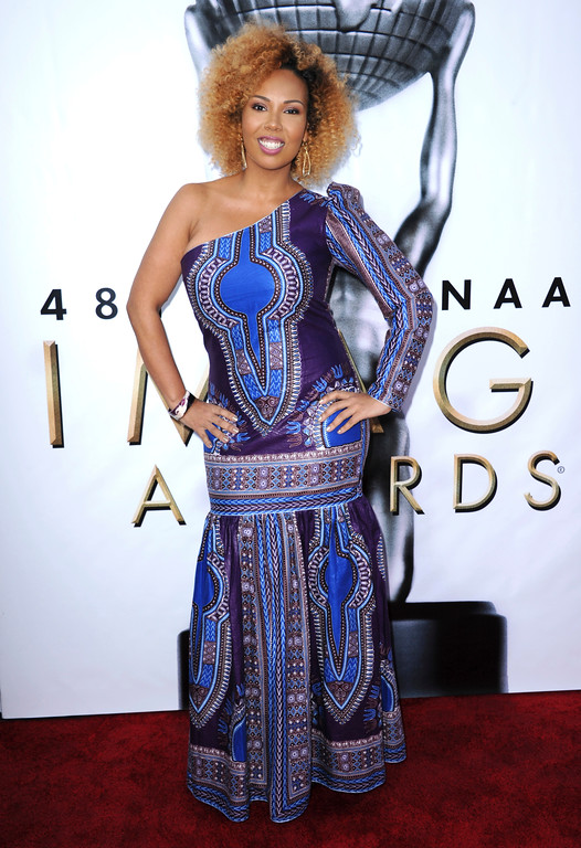 . Jamilah Lemieux arrives at the 48th annual NAACP Image Awards at the Pasadena Civic Auditorium on Saturday, Feb 11, 2017, in Pasadena, Calif. (Photo by Richard Shotwell/Invision/AP)