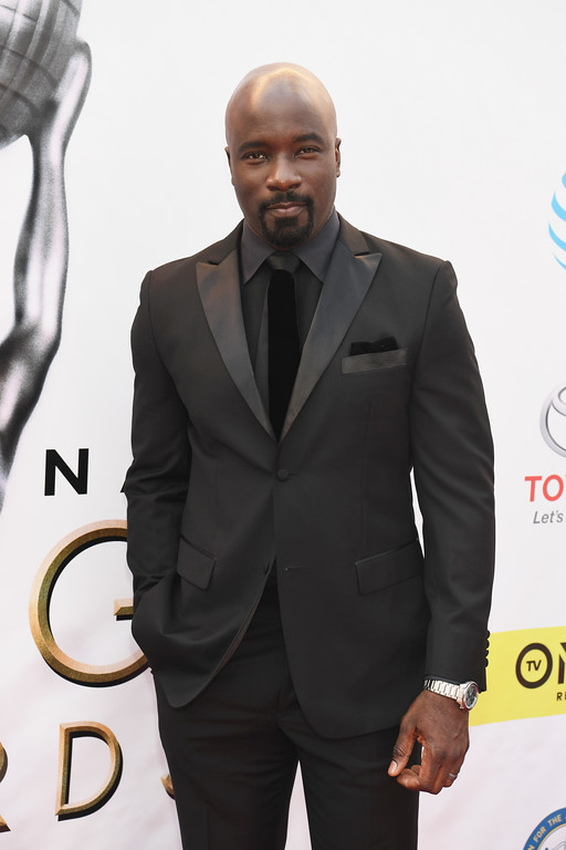 . PASADENA, CA - FEBRUARY 11:  Actor Mike Colter attends the 48th NAACP Image Awards at Pasadena Civic Auditorium on February 11, 2017 in Pasadena, California.  (Photo by Paras Griffin/Getty Images )