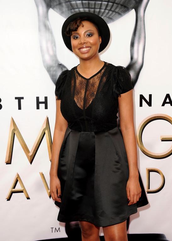 . Misha Green arrives at the 48th annual NAACP Image Awards at the Pasadena Civic Auditorium on Saturday, Feb. 11, 2017, in Pasadena, Calif. (Photo by Richard Shotwell/Invision/AP)