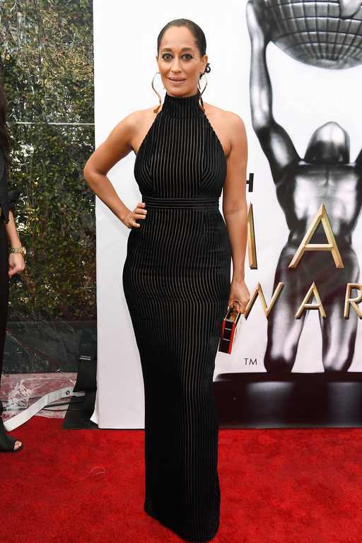 . PASADENA, CA - FEBRUARY 11:  Actress Tracee Ellis Ross attends the 48th NAACP Image Awards at Pasadena Civic Auditorium on February 11, 2017 in Pasadena, California.  (Photo by Paras Griffin/Getty Images )