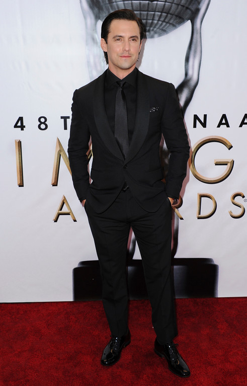 . Milo Ventimiglia arrives at the 48th annual NAACP Image Awards at the Pasadena Civic Auditorium on Saturday, Feb. 11, 2017, in Pasadena, Calif. (Photo by Richard Shotwell/Invision/AP)
