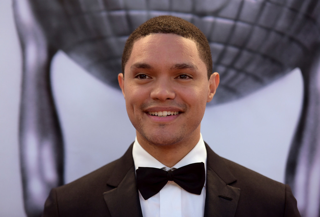 . Trevor Noah arrives at the 48th annual NAACP Image Awards at the Pasadena Civic Auditorium on Saturday, Feb. 11, 2017, in Pasadena, Calif. (Photo by Richard Shotwell/Invision/AP)