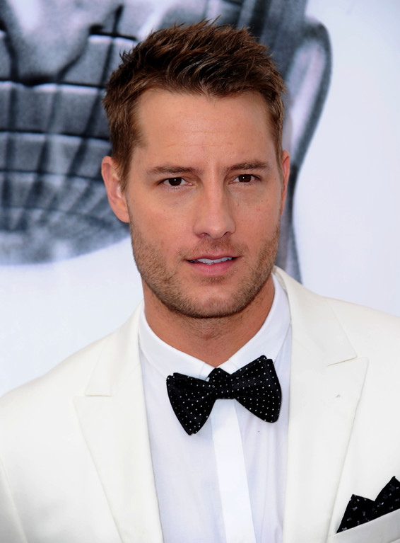 . Justin Hartley arrives at the 48th annual NAACP Image Awards at the Pasadena Civic Auditorium on Saturday, Feb 11, 2017, in Pasadena, Calif. (Photo by Richard Shotwell/Invision/AP)