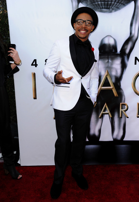 . Allen Maldonado arrives at the 48th annual NAACP Image Awards at the Pasadena Civic Auditorium on Saturday, Feb. 11, 2017, in Pasadena, Calif. (Photo by Richard Shotwell/Invision/AP)