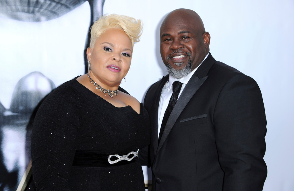 . Tamela Mann, left, and David Mann arrive at the 48th annual NAACP Image Awards at the Pasadena Civic Auditorium on Saturday, Feb 11, 2017, in Pasadena, Calif. (Photo by Richard Shotwell/Invision/AP)