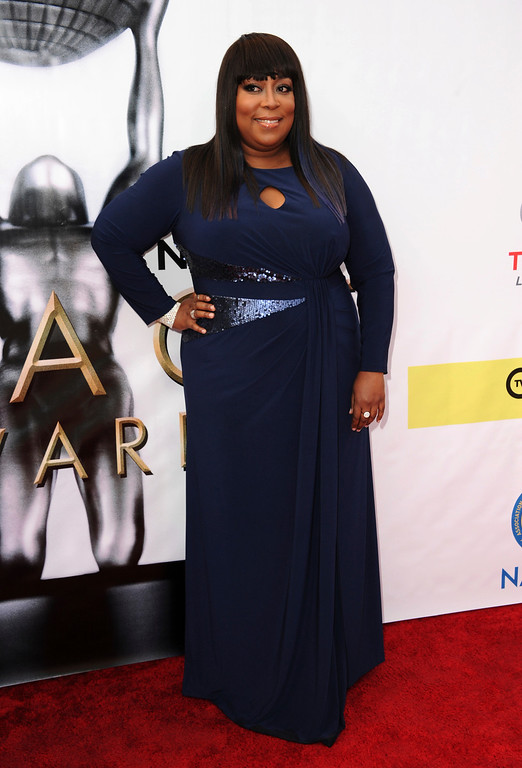 . Loni Love arrives at the 48th annual NAACP Image Awards at the Pasadena Civic Auditorium on Saturday, Feb. 11, 2017, in Pasadena, Calif. (Photo by Richard Shotwell/Invision/AP)