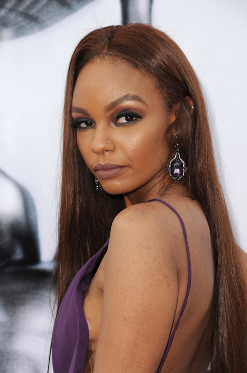. Sierra McClain arrives at the 48th annual NAACP Image Awards at the Pasadena Civic Auditorium on Saturday, Feb. 11, 2017, in Pasadena, Calif. (Photo by Richard Shotwell/Invision/AP)