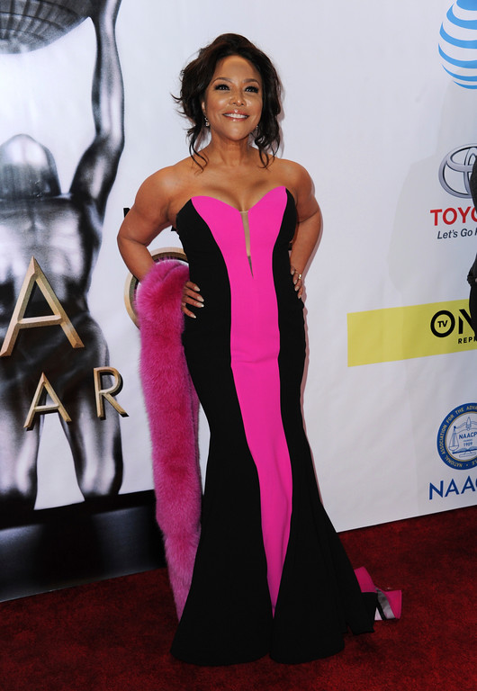 . Lynn Whitfield arrives at the 48th annual NAACP Image Awards at the Pasadena Civic Auditorium on Saturday, Feb. 11, 2017, in Pasadena, Calif. (Photo by Richard Shotwell/Invision/AP)