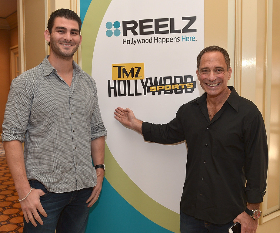 . ... His wing of TMZ continues to break high profile stories and TMZ Sports has had its own show on FS1 for over a year. (Photo by Charley Gallay/Getty Images for REELZ)