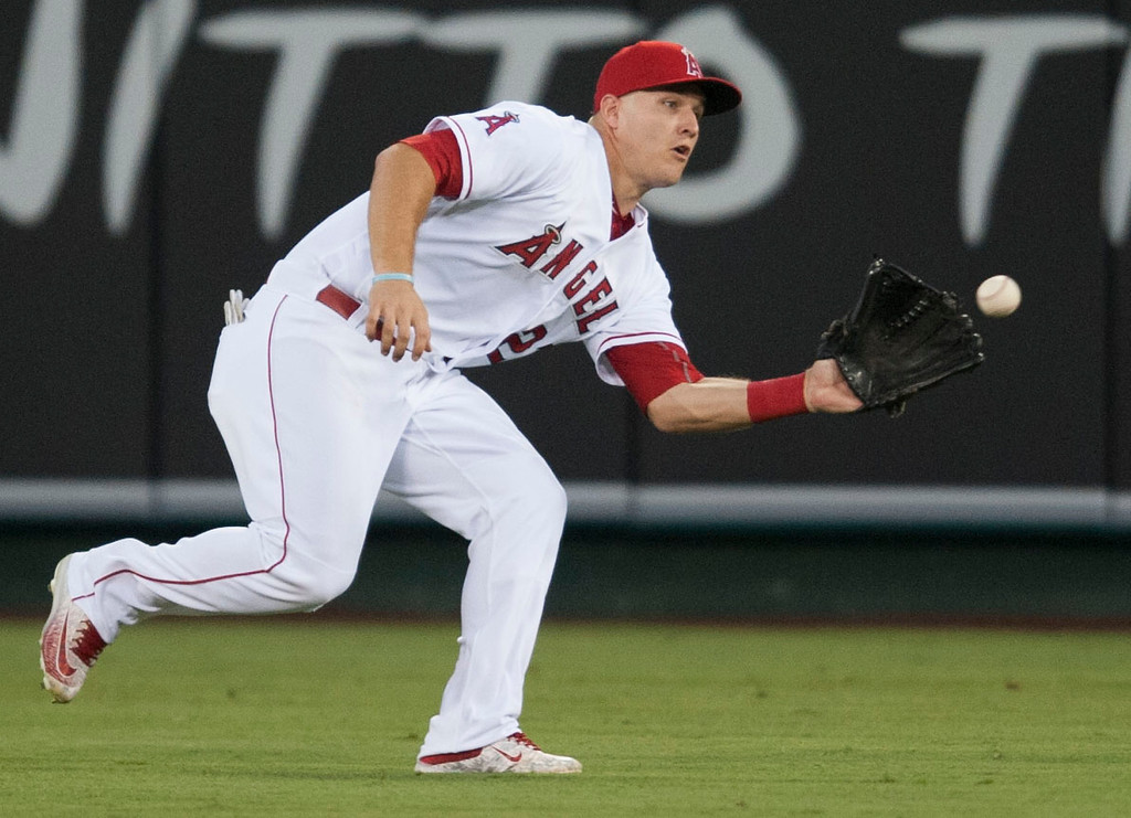 . <b>15. Mike Trout, 25, Angels Center Fielder </b> <br>The consensus best player in baseball won his second MVP in 2016 and Trout was a finalist for the award for a astounding fifth consecutive time last season ...  (Kevin Sullivan, Orange County Register/SCNG)