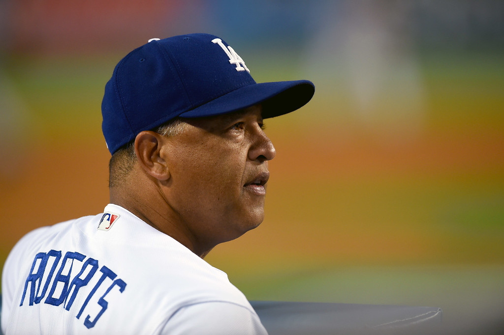 . <b>42. Dave Roberts, 45, Dodgers Manager </b> <br>Roberts went a long way toward squelching sentiments that he was simply a puppet for the front office with several unconventional managerial moves that paid off in the 2016 playoffs ... (Photo by Hans Gutknecht, Los Angeles Daily News/SCNG)