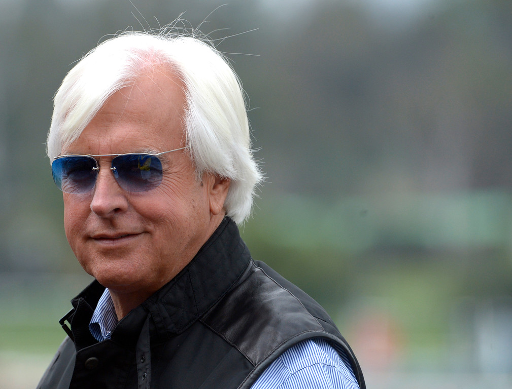 . ... the trainer of the 2015 Triple Crown winner that ended a 37-year drought remains the most recognizable figure in horse racing.  (Photo by Keith Birmingham, Pasadena Star-News/SCNG)