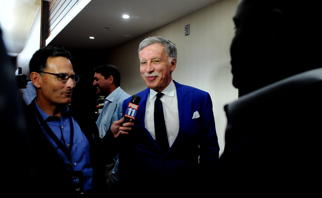 . <b>4. Stan Kroenke, 69, Rams Owner </b> <br>The Rams� arrival in 2016 wasn�t met with as much fervor as expected and the opening of Kroenke�s NFL stadium in Inglewood was delayed a year until 2020 ...  (Photo by Keith Birmingham, Pasadena Star-News/SCNG)