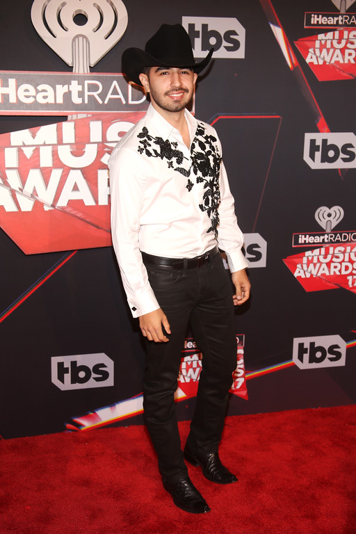 . INGLEWOOD, CA - MARCH 05:  Singer Joss Favela attends the 2017 iHeartRadio Music Awards which broadcast live on Turner\'s TBS, TNT, and truTV at The Forum on March 5, 2017 in Inglewood, California.  (Photo by Jesse Grant/Getty Images for iHeartMedia)