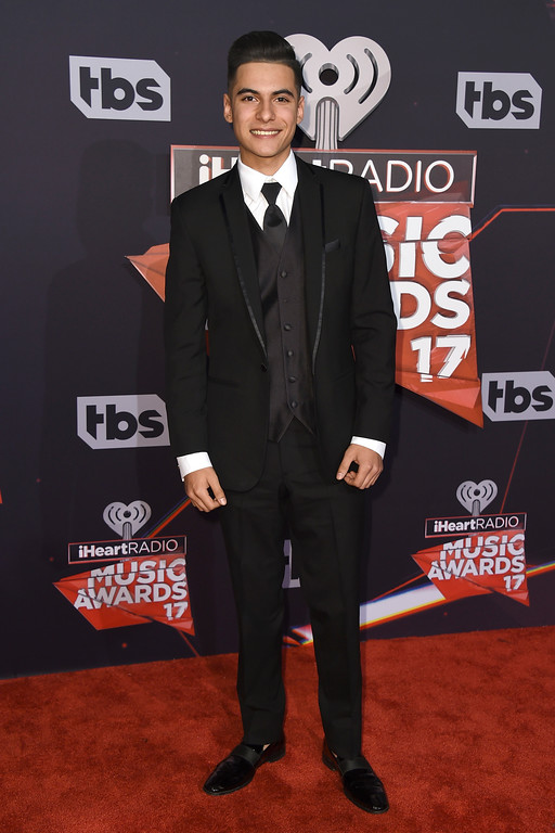 . Cheyo Carrillo arrives at the iHeartRadio Music Awards at the Forum on Sunday, March 5, 2017, in Inglewood, Calif. (Photo by Jordan Strauss/Invision/AP)