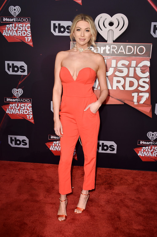 . INGLEWOOD, CA - MARCH 05:  TV personality Stassi Schroeder attends the 2017 iHeartRadio Music Awards which broadcast live on Turner\'s TBS, TNT, and truTV at The Forum on March 5, 2017 in Inglewood, California.  (Photo by Alberto E. Rodriguez/Getty Images)