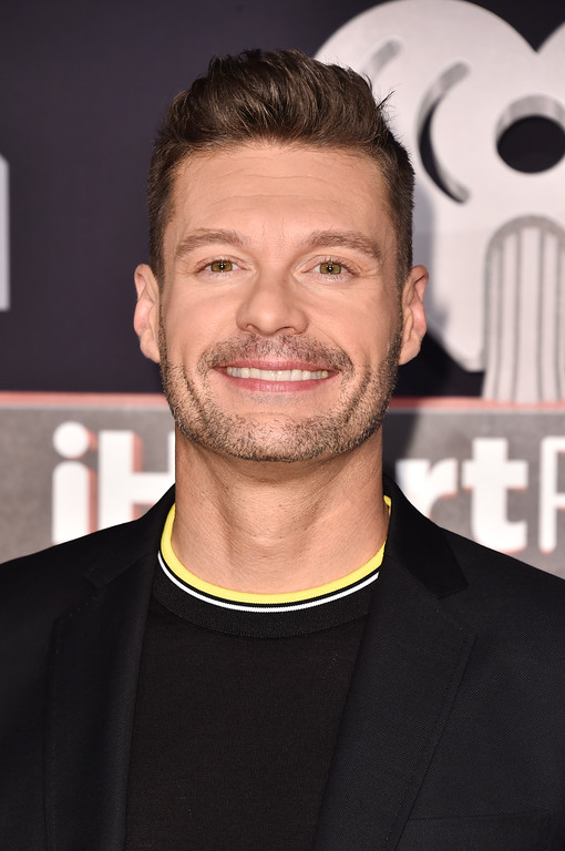 . INGLEWOOD, CA - MARCH 05:  Host Ryan Seacrest attends the 2017 iHeartRadio Music Awards which broadcast live on Turner\'s TBS, TNT, and truTV at The Forum on March 5, 2017 in Inglewood, California.  (Photo by Alberto E. Rodriguez/Getty Images)