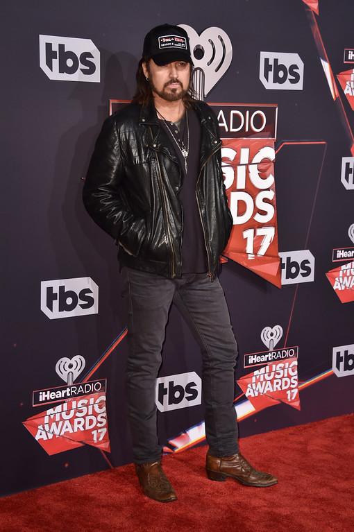 . INGLEWOOD, CA - MARCH 05:  Musician Billy Ray Cyrus attends the 2017 iHeartRadio Music Awards which broadcast live on Turner\'s TBS, TNT, and truTV at The Forum on March 5, 2017 in Inglewood, California.  (Photo by Alberto E. Rodriguez/Getty Images)
