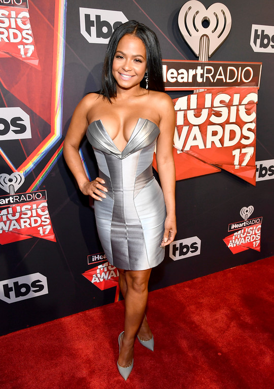 . INGLEWOOD, CA - MARCH 05:  TV personality Christina Milian attends the 2017 iHeartRadio Music Awards which broadcast live on Turner\'s TBS, TNT, and truTV at The Forum on March 5, 2017 in Inglewood, California.  (Photo by Frazer Harrison/Getty Images for iHeartMedia)