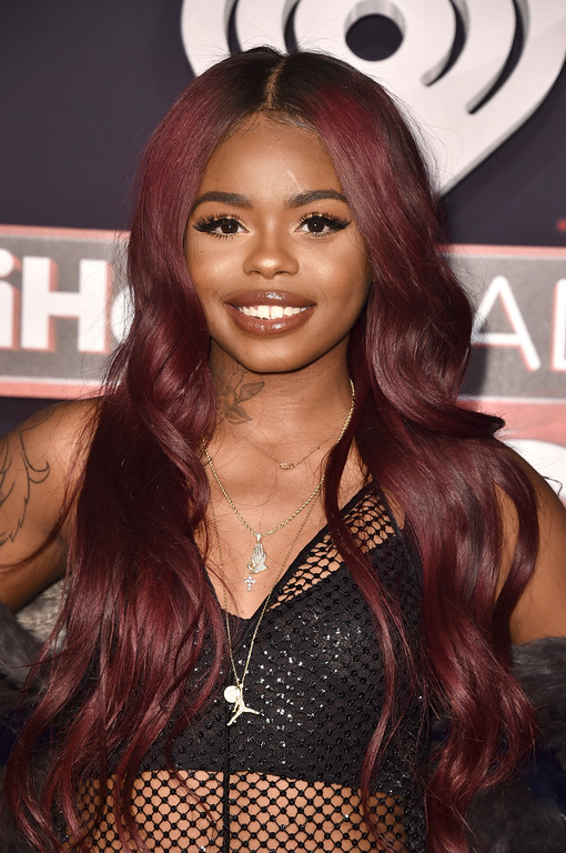. INGLEWOOD, CA - MARCH 05:  Singer Dreezy attends the 2017 iHeartRadio Music Awards which broadcast live on Turner\'s TBS, TNT, and truTV at The Forum on March 5, 2017 in Inglewood, California.  (Photo by Alberto E. Rodriguez/Getty Images)