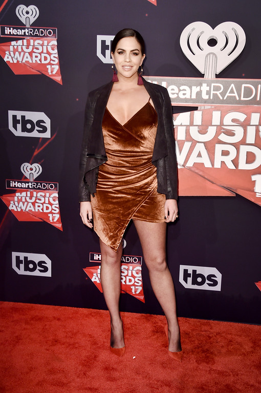 . INGLEWOOD, CA - MARCH 05:  TV personality Katie Maloney attends the 2017 iHeartRadio Music Awards which broadcast live on Turner\'s TBS, TNT, and truTV at The Forum on March 5, 2017 in Inglewood, California.  (Photo by Alberto E. Rodriguez/Getty Images)