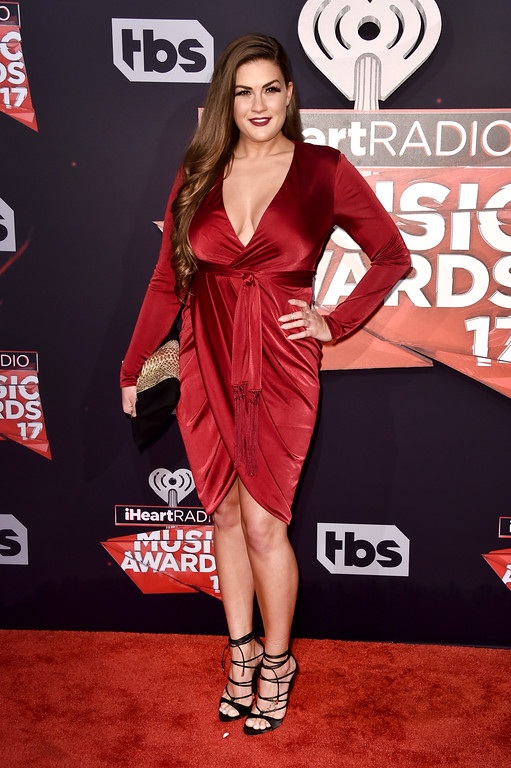 . INGLEWOOD, CA - MARCH 05:  TV personality Brittany Cartwright attends the 2017 iHeartRadio Music Awards which broadcast live on Turner\'s TBS, TNT, and truTV at The Forum on March 5, 2017 in Inglewood, California.  (Photo by Alberto E. Rodriguez/Getty Images)