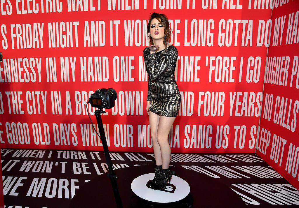 . INGLEWOOD, CA - MARCH 05:  Actress Laura Marano attends the 2017 iHeartRadio Music Awards which broadcast live on Turner\'s TBS, TNT, and truTV at The Forum on March 5, 2017 in Inglewood, California.  (Photo by Frazer Harrison/Getty Images for iHeartMedia)