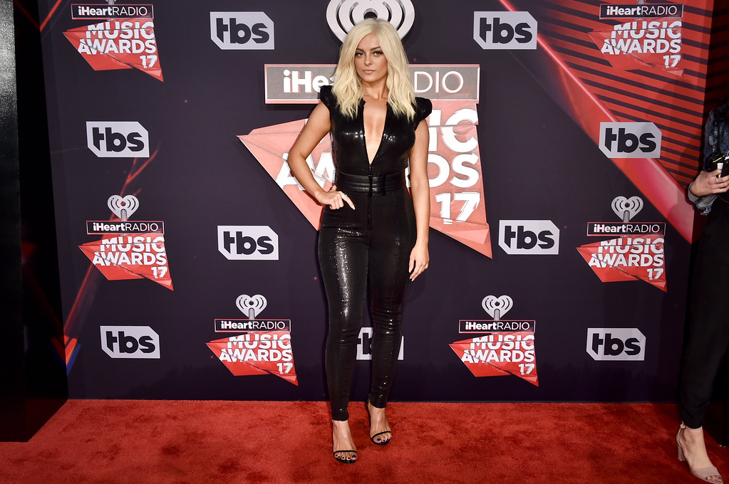 . INGLEWOOD, CA - MARCH 05:  Singer Bebe Rexha attends the 2017 iHeartRadio Music Awards which broadcast live on Turner\'s TBS, TNT, and truTV at The Forum on March 5, 2017 in Inglewood, California.  (Photo by Alberto E. Rodriguez/Getty Images)