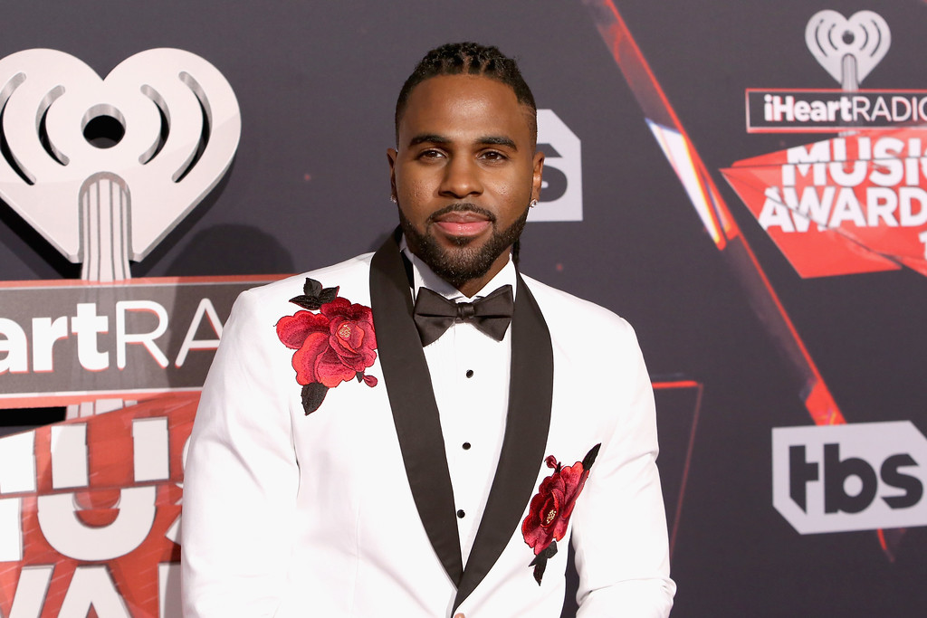 . INGLEWOOD, CA - MARCH 05:  Singer Jason Derulo attends the 2017 iHeartRadio Music Awards which broadcast live on Turner\'s TBS, TNT, and truTV at The Forum on March 5, 2017 in Inglewood, California.  (Photo by Jesse Grant/Getty Images for iHeartMedia)