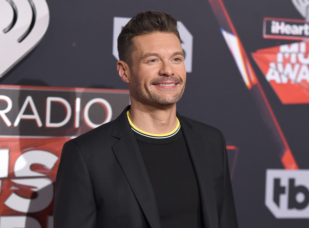 . Ryan Seacrest arrives at the iHeartRadio Music Awards at the Forum on Sunday, March 5, 2017, in Inglewood, Calif. (Photo by Jordan Strauss/Invision/AP)