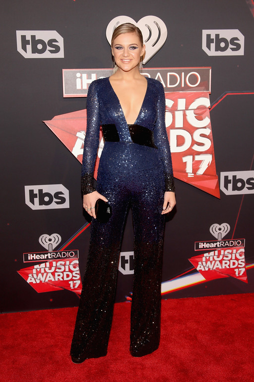 . INGLEWOOD, CA - MARCH 05:  Singer Kelsea Ballerini attends the 2017 iHeartRadio Music Awards which broadcast live on Turner\'s TBS, TNT, and truTV at The Forum on March 5, 2017 in Inglewood, California.  (Photo by Jesse Grant/Getty Images for iHeartMedia)
