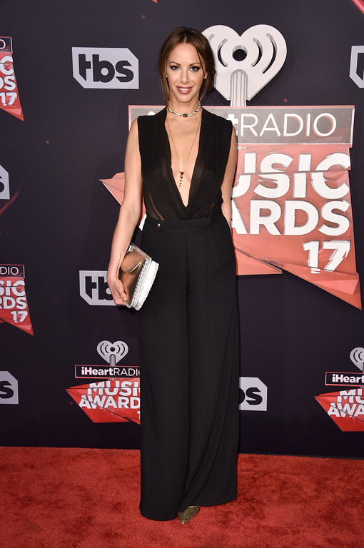 . INGLEWOOD, CA - MARCH 05:  TV personality Kristen Doute attends the 2017 iHeartRadio Music Awards which broadcast live on Turner\'s TBS, TNT, and truTV at The Forum on March 5, 2017 in Inglewood, California.  (Photo by Alberto E. Rodriguez/Getty Images)
