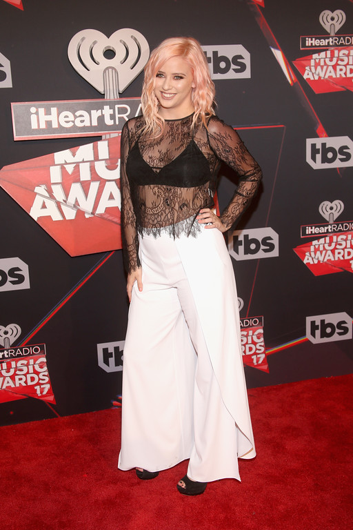 . INGLEWOOD, CA - MARCH 05:  Internet personality Lily Marston attends the 2017 iHeartRadio Music Awards which broadcast live on Turner\'s TBS, TNT, and truTV at The Forum on March 5, 2017 in Inglewood, California.  (Photo by Jesse Grant/Getty Images for iHeartMedia)
