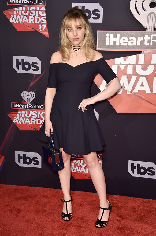 . INGLEWOOD, CA - MARCH 05:  Musician Hailey Knox attends the 2017 iHeartRadio Music Awards which broadcast live on Turner\'s TBS, TNT, and truTV at The Forum on March 5, 2017 in Inglewood, California.  (Photo by Alberto E. Rodriguez/Getty Images)