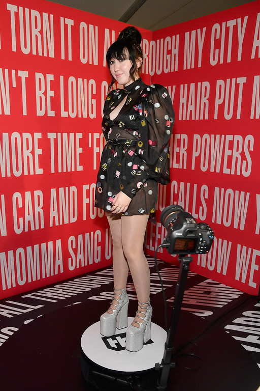 . INGLEWOOD, CA - MARCH 05:  Singer Noah Cyrus attends the 2017 iHeartRadio Music Awards which broadcast live on Turner\'s TBS, TNT, and truTV at The Forum on March 5, 2017 in Inglewood, California.  (Photo by Frazer Harrison/Getty Images for iHeartMedia)